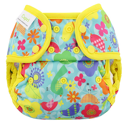 Blueberry diapers rainforest birds Capri