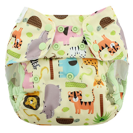 Blueberry diapers Jungle jam Capri