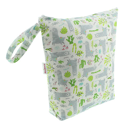 Blueberry diapers llamas wetbag