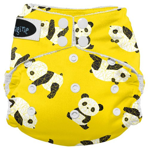 Imagine baby products AIO panda fold