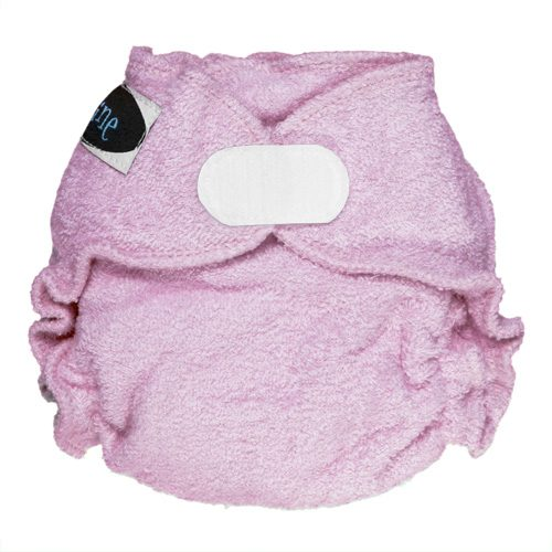 Imagine baby products Fitted NB Raspberry
