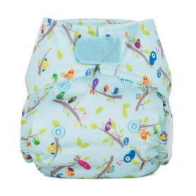 Baba+Boo Newborn Dawn Chorus Reusable Nappy