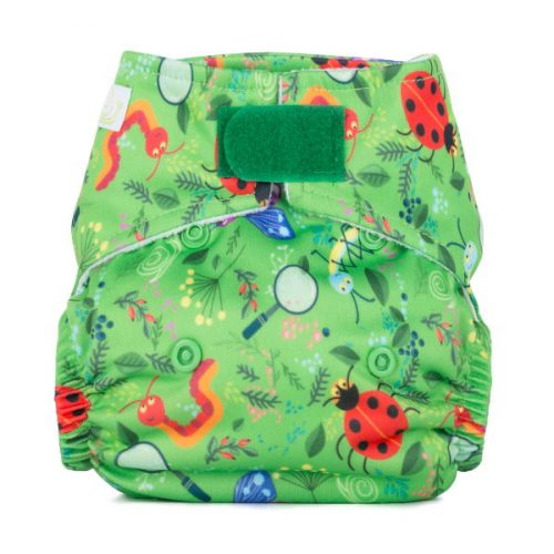 Baba+Boo Newborn Nature Detective Reusable Nappy