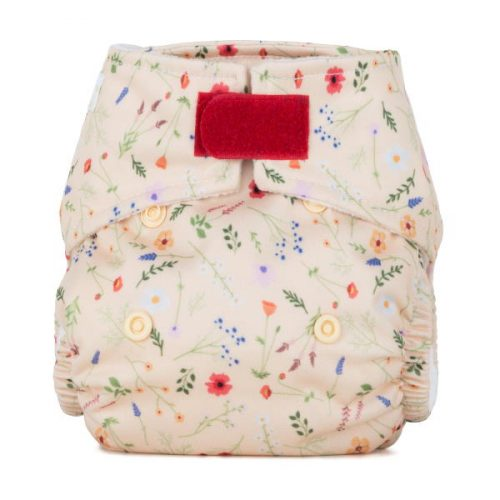 Baba+Boo Newborn Wildflowers Reusable Nappy