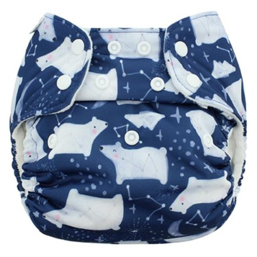 Blueberry diapers especial edition arctic night