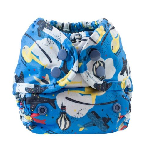Buttons Diapers newborn Flying High