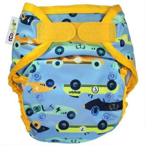 ecopipo nappy wrap racing cars