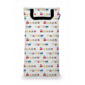 Buttons Diapers Saco impermeável Grande All aboard
